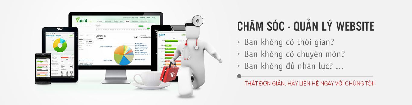 Bảng giá dịch vụ quản trị nội dung website